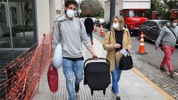 Le dieron el alta al bebé de Noelia Marzol y abandonaron el sanatorio