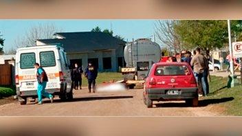 Motociclista de 16 años falleció tras chocar contra un camión estacionado