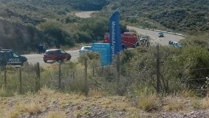 Trágico choque en Mendoza