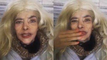 Lía Crucet reapareció con un impactante video hablando sobre su salud