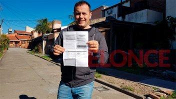Vacunación contra el coronavirus: Cristian Bello recibió la Sputnik V