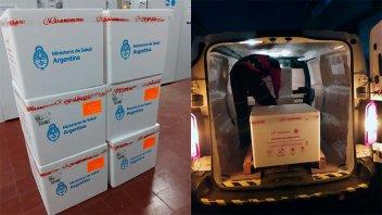 Entre Ríos recibió 24.700 nuevas dosis de vacunas AstraZeneca