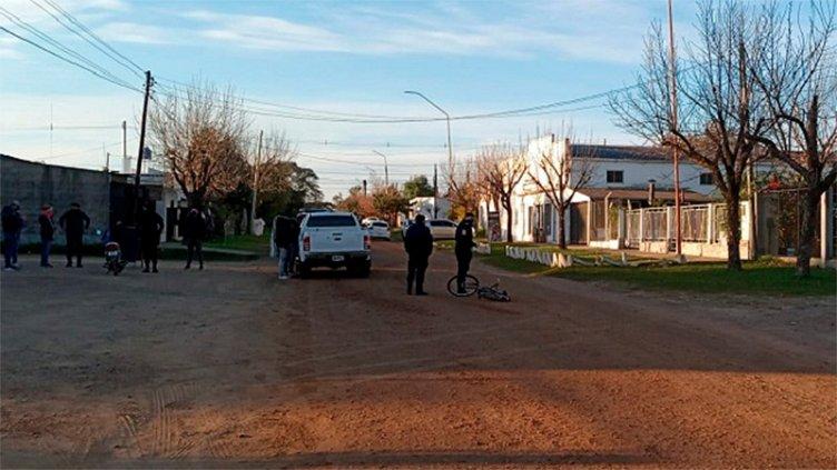 Depravado en bicicleta manoseó a mujer, lo persiguieron en moto y fue detenido