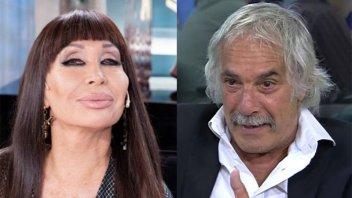 El romance de Moria Casán con el suegro de Sergio Massa