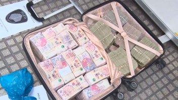 Ladrón golpeó a un hombre, le robó $3 millones y hubo una dramática persecución
