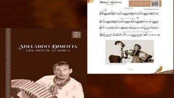 """Invitan a la presentación del libro """"Abelardo Dimotta: Cien años de su música"""""""