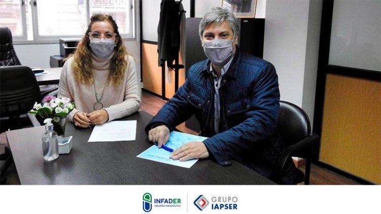 El laboratorio INFADER formalizó su vinculación como miembro de ANLAP