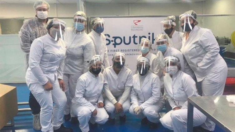 El laboratorio Richmond ya produjo casi 450 mil dosis de Sputnik V en Argentina