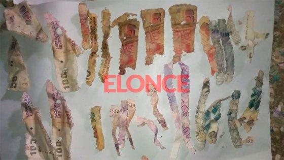 Revelan la procedencia de la gran cantidad dinero hallado destruido en Paraná