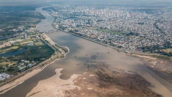 """Indican la bajante del Paraná es """"del orden de los registros del siglo pasado"""""""