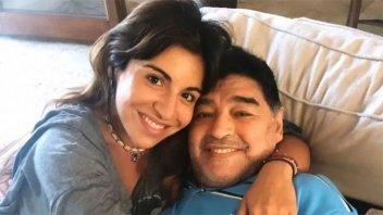 Conmovedor  mensaje de Gianinna Maradona por el Día del Padre