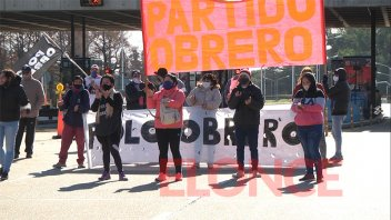 Protesta de Polo Obrero ocasionó demoras en el cruce por el Túnel Subfluvial