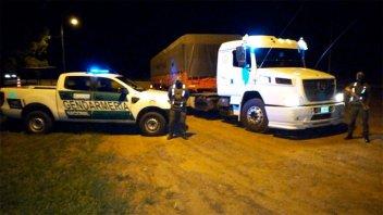 Gendarmes incautan 142 toneladas de soja trasladadas de manera ilegal