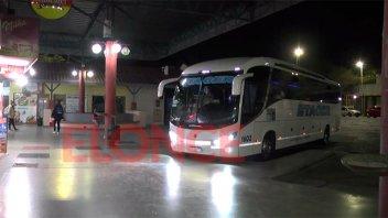 Fin de semana largo: la terminal de ómnibus no registra