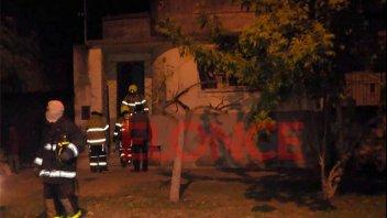 Desperfecto eléctrico ocasionó principio de incendio en una vivienda