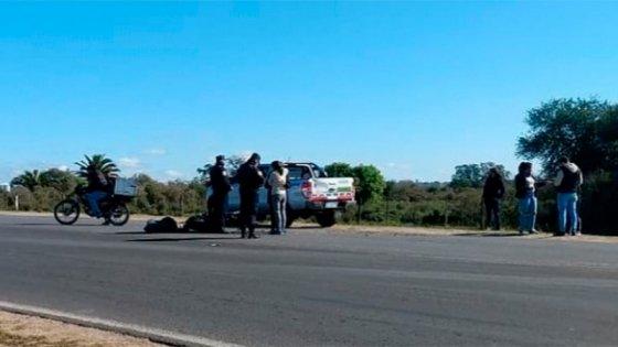 Un hombre perdió la vida como consecuencia de un accidente de moto