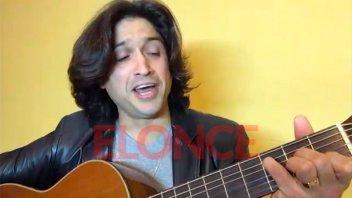Vitín Martoccia homenajeó a los padres en vivo por Elonce TV