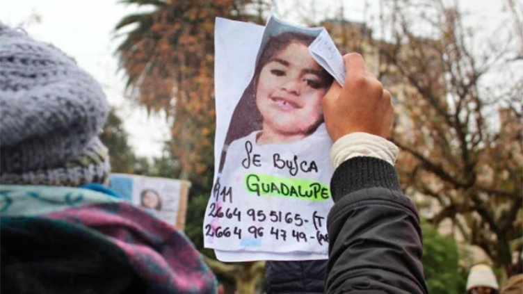 Desaparición Guadalupe: las llamadas que recibió la mamá provenian de Río Negro