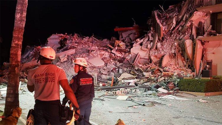 Confirman cuatro muertos y 159 desaparecidos por derrumbe de edificio en Miami