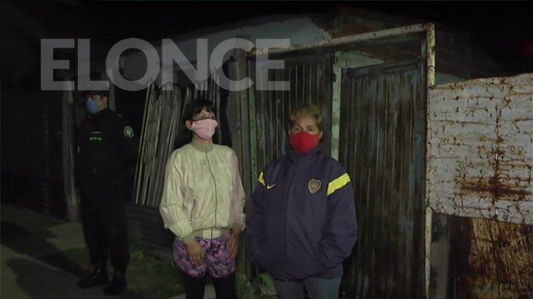 """Incendio de vivienda: """"Empecé a sacar las criaturas que estaban prendidas fuego"""""""