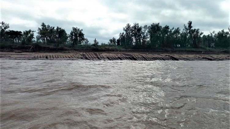 Bajante del Paraná: monitorean las cubiertas protectoras del Túnel Subfluvial