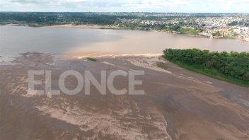 Estiman que el río llegará al menos a un metro por debajo de cero en Paraná