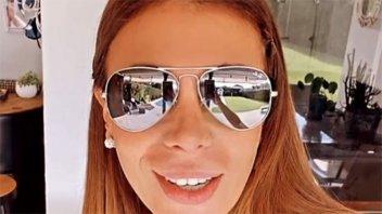 Ximena Capristo contó por qué aparece en televisión con anteojos de sol