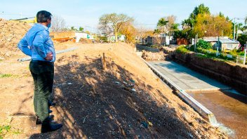 Arroyo Antoñico: la obra integral de calle Gálvez tiene un avance del 40%