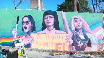 Arte y concientización: mural para alertar contra la violencia institucional