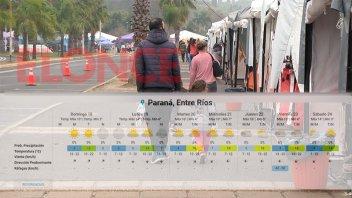 Se aproxima una semana fría: las mínimas serán del orden de los 4ºC