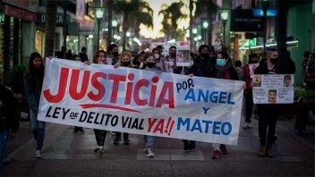 Marcharon para pedir justicia por entrerrianos atropellados en Corrientes