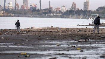 Alertan que la bajante del río Paraná