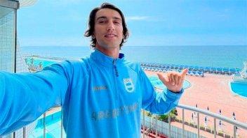 Un atleta argentino rindió un examen final en la Villa Olímpica y aprobó