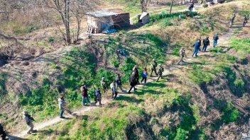 Operación tirolesa: cayó banda narco que trasladaba droga por cables de acero