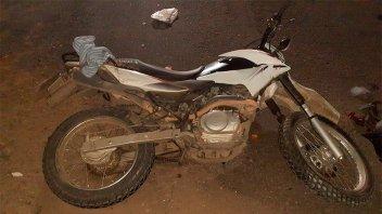 Motociclista sufrió graves lesiones tras chocar contra un colectivo