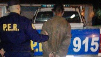 Agredió a una mujer en la vía pública y la dejó inconsciente