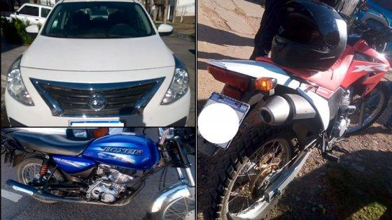 Joven chocó dos motos y huyó en Paraná: lo detuvieron tras persecución callejera