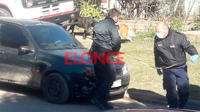 Crimen de Calleja: secuestraron otro auto debido a los neumáticos que llevaba
