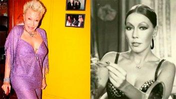 Murió la legendaria actriz y vedette Gogó Rojo a los 78 años