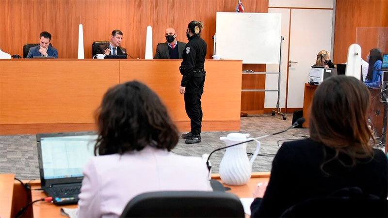 Primera jornada del juicio en Rosario. Imagen: Andrés Macera