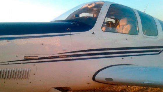 Balearon con ametralladora la avioneta de empresario con negocios en Entre Ríos