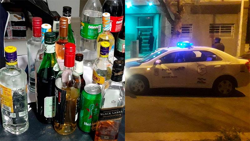 Intervienen múltiples fiestas en casas de Paraná: en algunas, había 50 personas