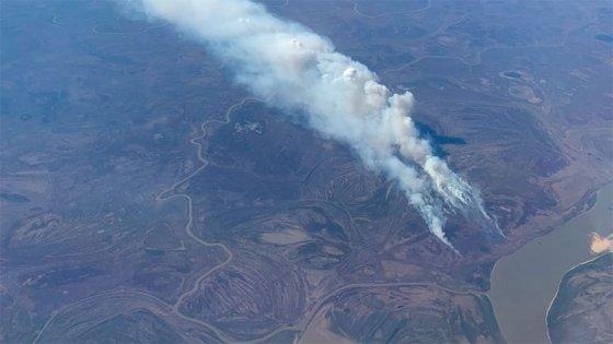 Combatieron intensamente focos de incendio en islas del Delta del Paraná