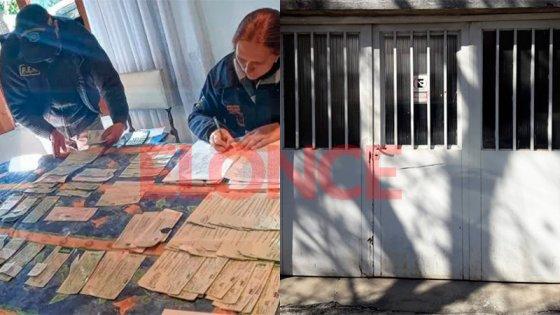 Secuestraron millonarios cheques falsos y robados utilizados para comprar autos