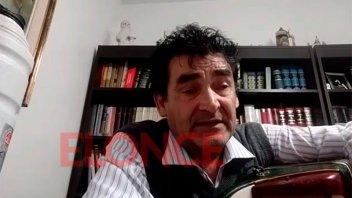 Ricardo Dimotta, heredero del Chamamé entrerriano, cantó en vivo por Elonce TV