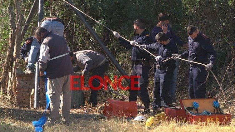 Caso Calleja: el resultado de la búsqueda en aljibe que tenía 4 metros de agua
