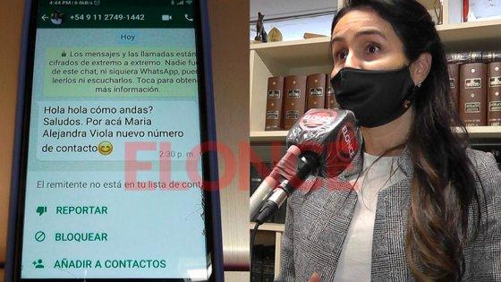 Clonaron el WhatsApp de una ex diputada y estafaron a un contacto en US$3.000