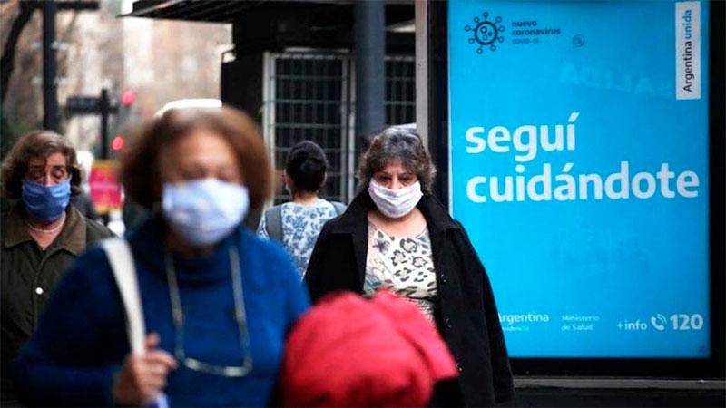 Reportaron 106 muertos en el país y 2.034 contagios en las últimas 24 horas
