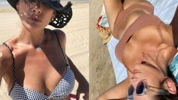 """Con varias postales, Alessandra Rampolla exhibió por qué es """"hija del mar"""""""