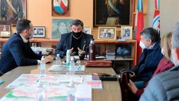El CAPER se reunió con el Intendente de Concepción del Uruguay